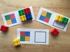 Toddler Learning Activities, Montessori Toddler, Montessori Activities, Infant Activities, Kids Learning, Lego Duplo, Early Learning, Kids Education, Legos