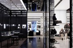 Chanel Soho by Peter Marino Architect PLLC. SEE MORE: http://architypereview.com/22-retail-interiors-/projects/721-chanel-soho #retailinterior #retail #interior #architecture #architect Image 1 of 4