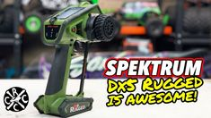 NEW Spektrum DX5 Rugged Green Unboxing - Way Better Touch Pad and a Look... Hobby Shop, Radio Control, Extra Money, Touch, Rugs, Green, Farmhouse Rugs, Rug