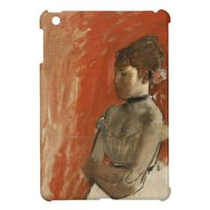 Ballet Dancer with Arms Crossed by Edgar Degas Cover For The iPad Mini