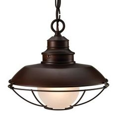 $48.  Free shipping Finish: Oil Rubbed Bronze,Light Bulb: (1)60w B10 Cand F Incand,Dime... CARPORT???