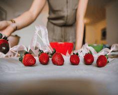 Shakeology Chocolate-Dipped Strawberries