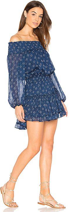 MISA Los Angeles Darla Dress in Blue