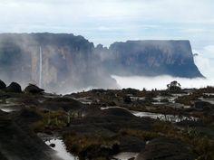 Roraima, Venezuela Monte Roraima, Niagara Falls, Waterfall, Around The Worlds, Nature, Bella, Outdoor, Brazil, The World