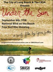 """Free movie screening of """"Under the Sun"""" this Saturday, Sept. 8th at Long Beach, National Blvd. NY https://www.facebook.com/events/142945242514105/permalink/142945249180771/"""