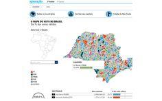 O mapa do voto no Brasil (FSP_1205)