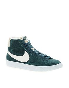Something VERY similar to this, when I was a teen, they were men's. Nike  BlazersHigh ...