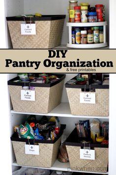 DIY Kitchen Pantry O