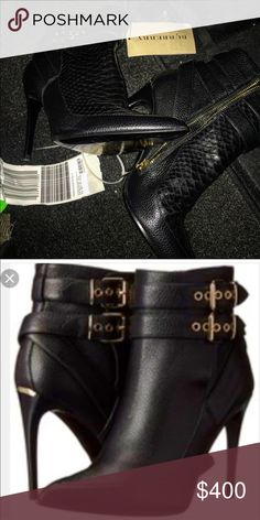 Authentic Burberry booties Authentic. Never worn with tags original price $800. Burberry Shoes Ankle Boots & Booties