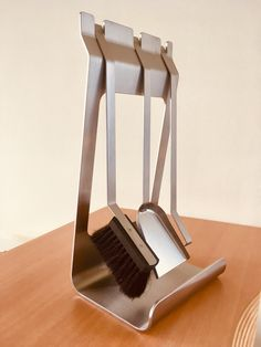 Edelstahl Kaminbesteck in modernem Design Floor Chair, Flooring, Elegant, Furniture, Home Decor, Contemporary Design, Stainless Steel, Classy, Decoration Home