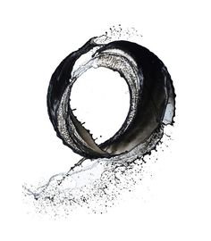 "Enso - japanese calligraphy.  Zen symbol of  Absolute enlightenment, strength, elegance, the Universe, and the void; additionally it also represents the Japanese aesthetic itself. As an ""expression of the moment"" it is often considered a form of minimalist expressionist art."
