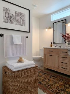 Undecorated Home One Room Challenge Bathroom Reveal Small Bathroom Window, Master Bathroom, Master Bedrooms, Master Suite, Tub Shower Combo, Transom Windows, Bathroom Interior, Bathroom Ideas, Bathroom Organization