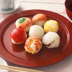 Japanese sushi-ball
