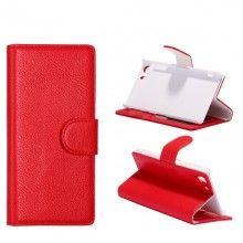 Capa Xperia Z1 - Tipo Livro Vermelha  9,99 €