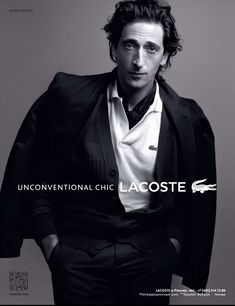 Lacoste Spring Summer 2012 - Adrien Brody photographed by Craig McDean