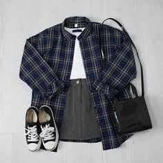 Blues flannel