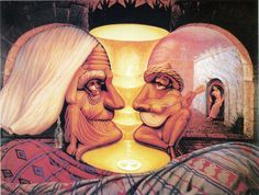 Forever Always - Octavio Ocampo...Always showed this illusion to my students...