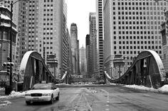 Chicago Winter Bridge