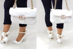 Shin Min Ah Fashion, Shoe Closet, Shoe Bag, Beautiful High Heels, Head To Toe, Full Body, Me Too Shoes, Kicks, Gucci