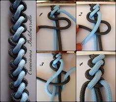 Como sabéis, la técnica del macramé consiste en una especie de tejido con nudos. Hoy vamos a aprender a elaborar el nudo rizado para realizar pulseras.