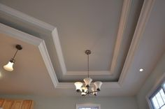 Tray Ceiling- Work done by McCarthy and Son Contracting. Ocean City, MD.