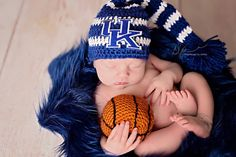 A personal favorite from my Etsy shop https://www.etsy.com/listing/270714200/newborn-boy-striped-university-of