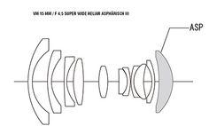 Voigtländer - Objektive VM 15mm F4,5 Super Wide Heliar Modell 2014