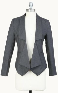 Amazon.com: Tulle Women's Architect Open Blazer: Clothing