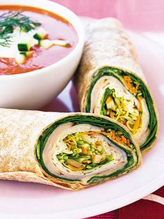 10 to-go lunches for your work week  #lunch #sandwiches Summer Recipes, Lunch Recipes, Wrap Recipes, Dinner Recipes, Healthy Recipes, Sandwich Recipes, Easy Recipes, Ratatouille, Tapas