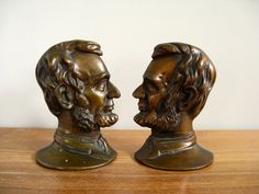 Unique Abraham Lincoln bookends wonderful by Sweetpotatojack, $58.00