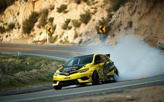 Descargar fondos de pantalla Formula D, carretera, 4k, Toyota Corolla iM de 2017, los coches, a la deriva, Toyota