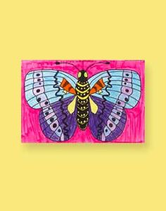 Insect Symmetry Lesson Plan