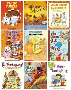 Best Early Reader Books for Thanksgiving - seasonal themed books for more incentive to get kids #reading! #kidlit #thanksgiving
