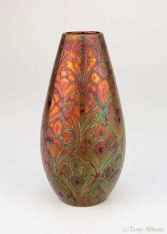Clement Massier circa 1900 French Art Nouveau Pottery Glass Ceramic, Ceramic Pottery, Pottery Art, Ceramic Art, Slab Pottery, Thrown Pottery, Pottery Studio, Vintage Pottery, Ceramic Bowls