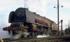 (More classic British steam power.) 46245 'City of London' Coronation Class takes water before working a fitted freight to Crewe, Willesden MPD 11 April Photo by Barry Austin Diesel Locomotive, Steam Locomotive, Train Car, Train Tracks, Steam Trains Uk, Steam Railway, Abandoned Train, British Rail, Old Trains