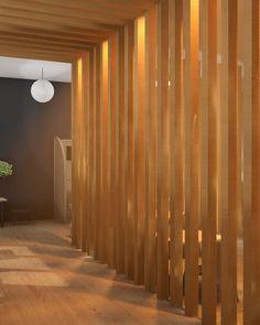 Concept for contemporary Japanese tea room design.                                                                                                                                                                                 More