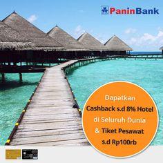 Traveler pemegang kartu kredit Bank Panin jenis Gold, Platinum dan Infinite? Nikmati promo kartu kredit Bank Panin di #NusaTrip. Dapatkan cashback untuk pemesanan #hotel atau #tiketpesawat! Kunjungi halaman promo nya di http://goo.gl/OV3u2d   *Syarat dan ketentuan berlaku