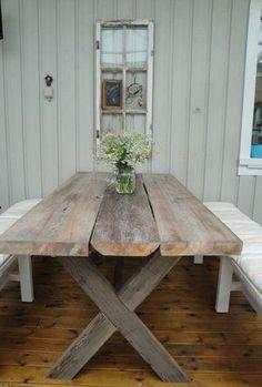 Bildresultat för bord av gamla plankor