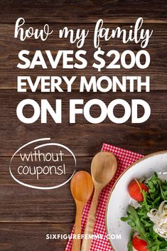 Food is one of our greatest expenses, but it doesn't have to be that way. Here is how I cut my family's food bill in half WITHOUT using coupons or waiting on sales! Free Groceries, Save Money On Groceries, Ways To Save Money, How To Make Money, How To Make Dough, Food Intolerance, Extreme Couponing, Frugal Living Tips, Stay In Shape