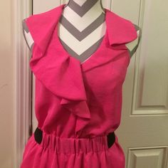 Shop Women's Rachel Roy Pink size 4 Dresses at a discounted price at Poshmark. Description: Rachel Roy Size 4 hot pink dress fully lied. Has pockets no issues. Sold by mdavery64. Fast delivery, full service customer support.