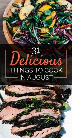 31 Delicious Things You Need To Cook In August  All food is bikini-friendly if you eat it while wearing a bikini.