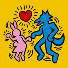 Keith Haring Prints, Keith Haring Art, Best Anime On Netflix, Iphone Wallpaper App, Joker Art, Wall Drawing, Phone Themes, Cool Posters, Homescreen