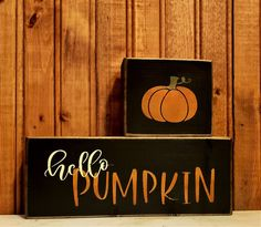 Autumn Fall, Autumn Home, Primitive Wood Signs, Fall Signs, Holiday Time, Fall Home Decor, Fall Pumpkins, Burnt Orange, 10 Days