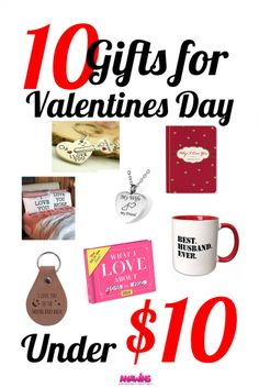 Hoping to show your love with awesome this year without breaking the bank? Don't miss these 10 Valentine gift ideas under $10!