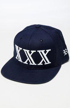 XXX Snapback (Navy)