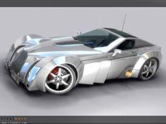 p i v o t by schizobrutal.deviantart.com Concept car
