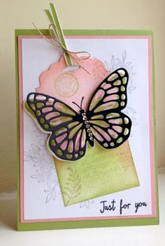 Watercolor Wings by Loris67 - Cards and Paper Crafts at Splitcoaststampers