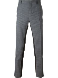 LANVIN Checked Trousers. #lanvin #cloth #trousers