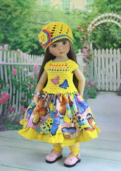 "Outfit for doll 13"" Dianna Effner Little Darling 