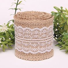 Product Description #KINGLAKE®Enhance your Life Made of Natural Jute,very beautiful and lovely:) You can use it to decorate mason jars ,decorate for your weddin...